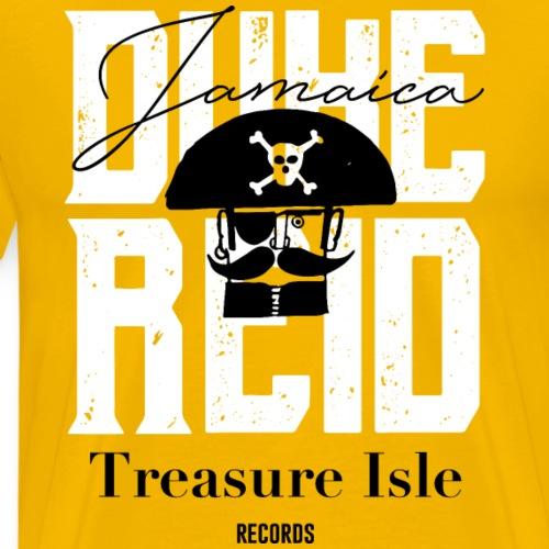 Duke Reid | Jamaica Treasure Island Records - Camiseta premium hombre