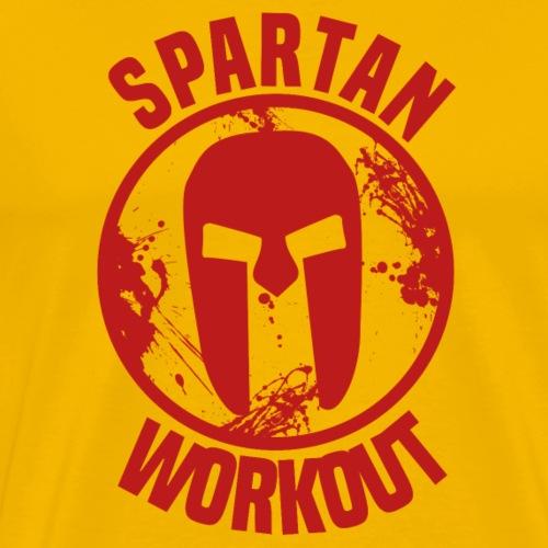 Spartan Workout - Men's Premium T-Shirt