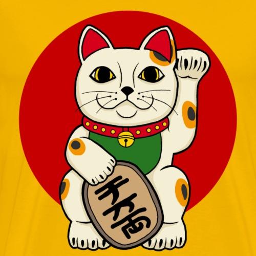 lucky cat - T-shirt Premium Homme