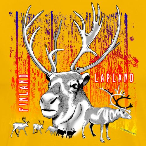 01-08 POROT, LAPLAND, FINLAND - TUOTTEET - Miesten premium t-paita