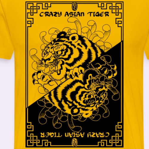 Crazy asian tiger