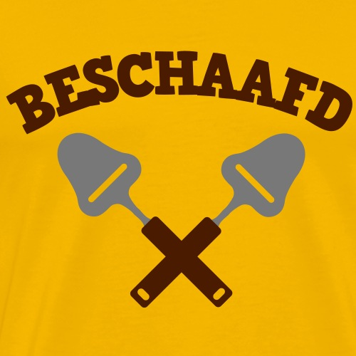 Beschaafd - Mannen Premium T-shirt