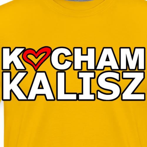 Kocham Kalisz - Koszulka męska Premium
