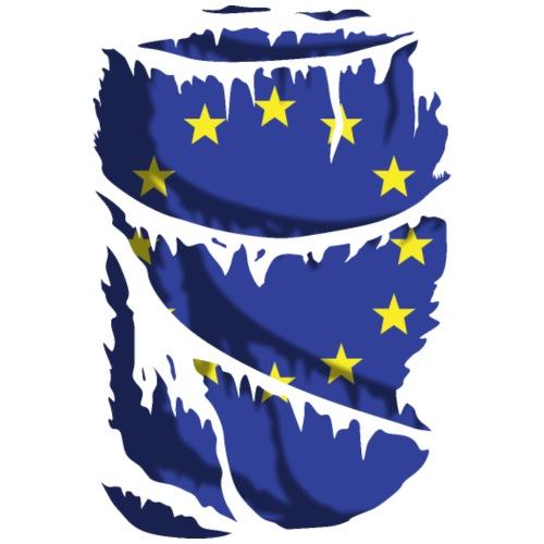 Camiseta rasgada Europa - Camiseta premium hombre