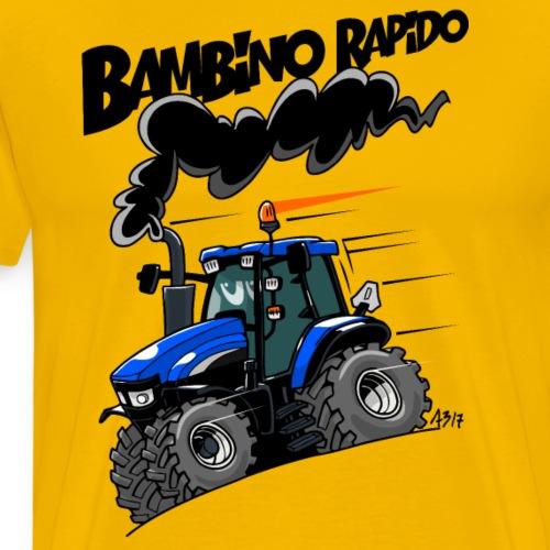 0616 NewHolland TM120 bambino rapido - Mannen Premium T-shirt