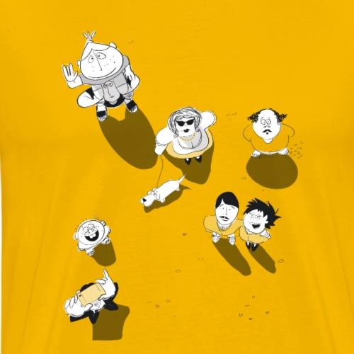Oben - Männer Premium T-Shirt