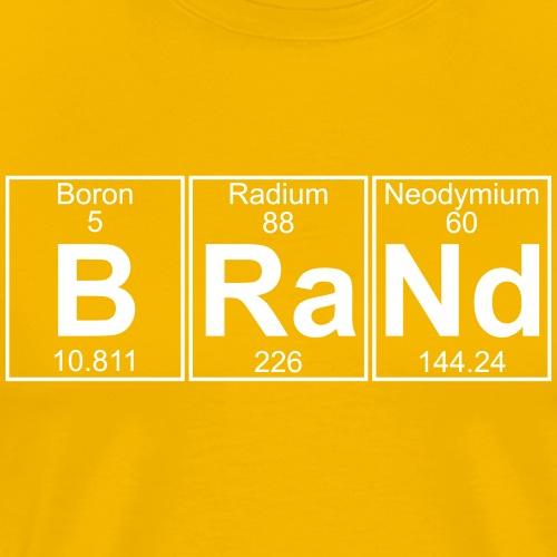B-Ra-Nd (brand) - Full - Men's Premium T-Shirt
