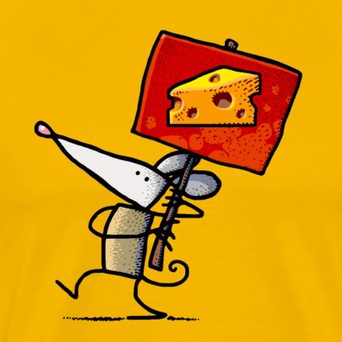 Cheese - Men's Premium T-Shirt