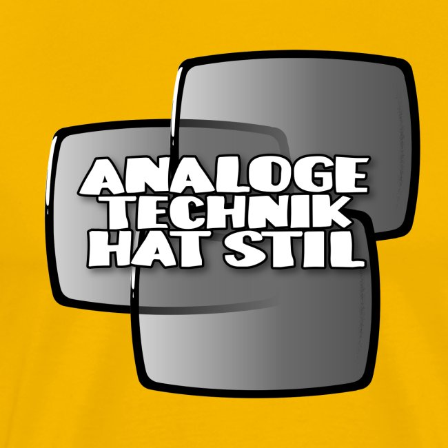 Analoginen tekniikka on tyyliä