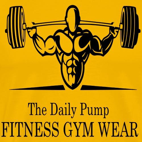 The Daily Pump Fitness Gym Wear - Männer Premium T-Shirt
