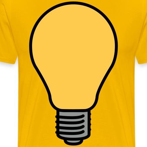 Lightbulb - Men's Premium T-Shirt