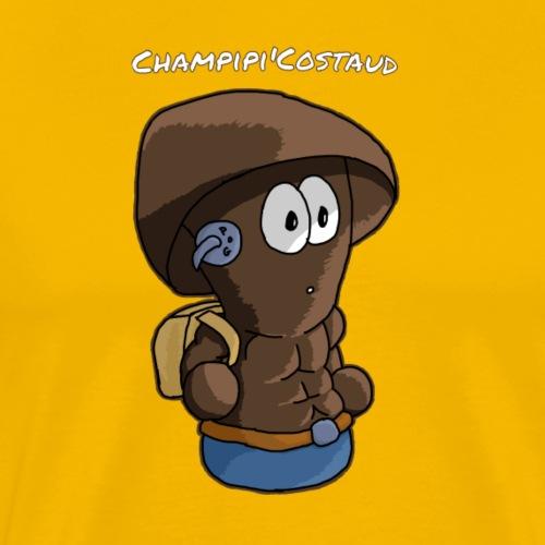 Champipi'Costaud Nom - T-shirt Premium Homme