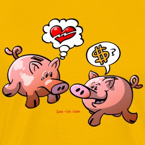 Money or Love? - Men's Premium T-Shirt