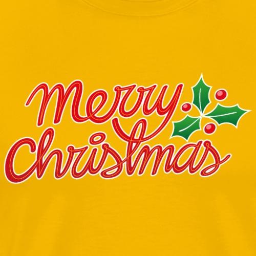 Merry Christmas, best wishes, Christmas greetings! - Men's Premium T-Shirt