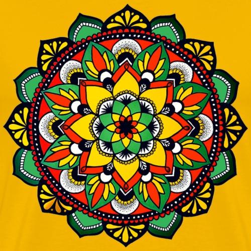 Reggae Mandala - Männer Premium T-Shirt