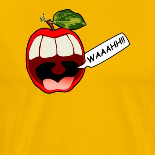 Apfel schreit - Männer Premium T-Shirt