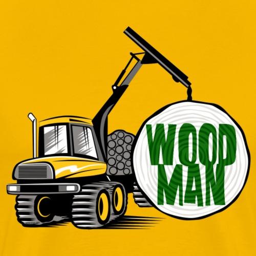 Woodman kuormatraktori, t paidat, hupparit, lahjat - Miesten premium t-paita