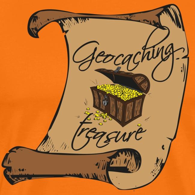 Geocaching treasure