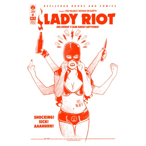 LADY RIOT - RED