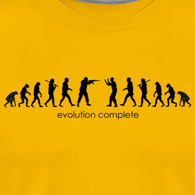 End of Evolution