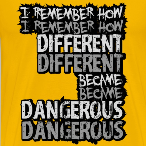 I remember... - Men's Premium T-Shirt