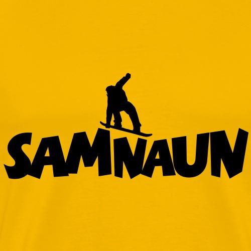 Samnaun Snowboarding Snowboarder Snowboarding - Männer Premium T-Shirt