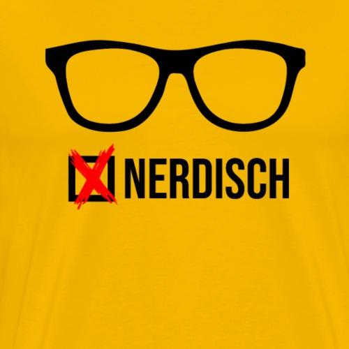 waehle den nerd - Männer Premium T-Shirt