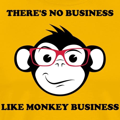 Monkey Business - Premium-T-shirt herr