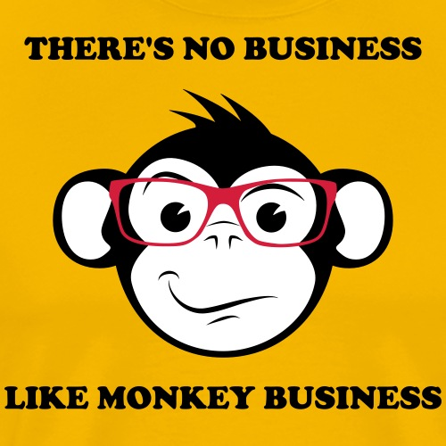 Monkey Business - Premium-T-shirt herr