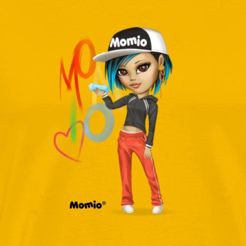 Maya - av Momio Designer Cat9999 - Premium T-skjorte for menn