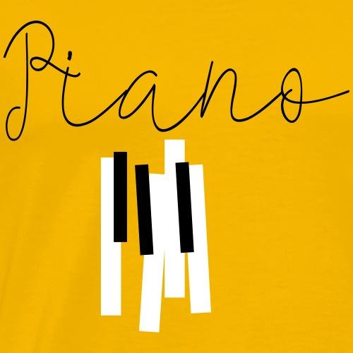 piano - T-shirt Premium Homme