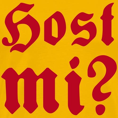 host mi - Männer Premium T-Shirt