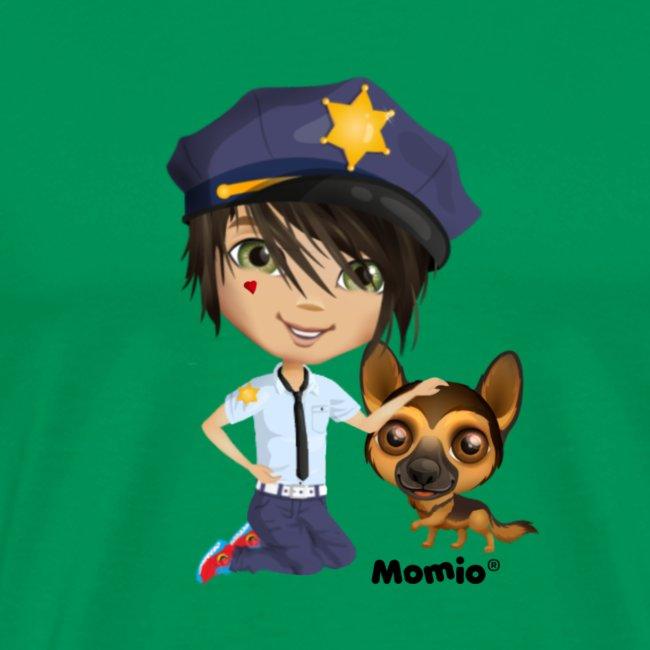 Jack and dog - av Momio Designer Cat9999