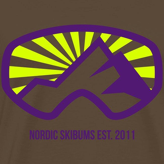 Nordic skibums sunrays