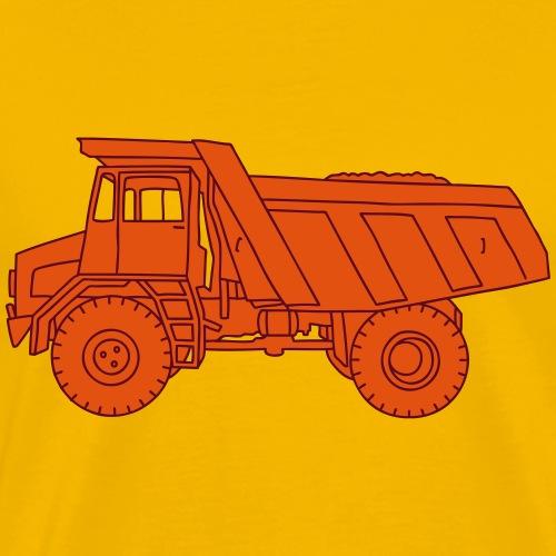 Muldenkipper Kipplaster 2 - Männer Premium T-Shirt