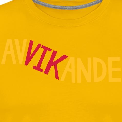 AVVIKANDE - Premium-T-shirt herr