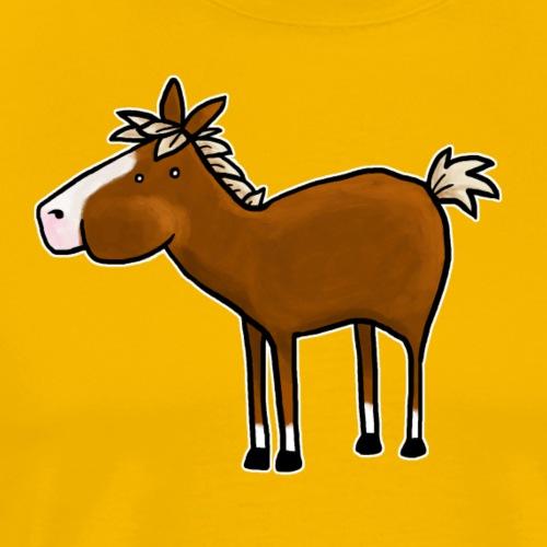 Pony - Männer Premium T-Shirt