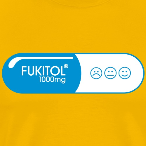 Fuck it all with Fukitol - Premium-T-shirt herr