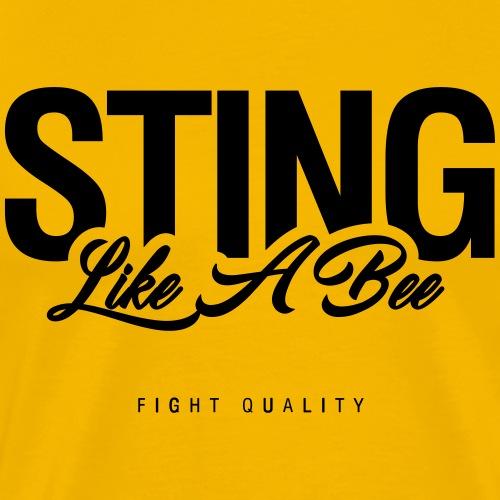 Sting Like A Bee - Men's Premium T-Shirt