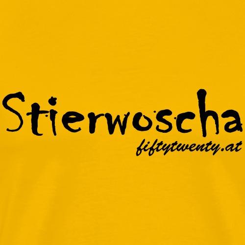 Stierwoscha - Männer Premium T-Shirt