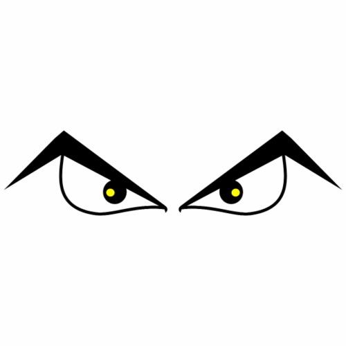 Boze ogen - Mannen Premium T-shirt
