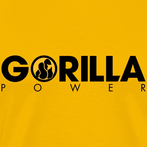 GORILLA POWER - Männer Premium T-Shirt