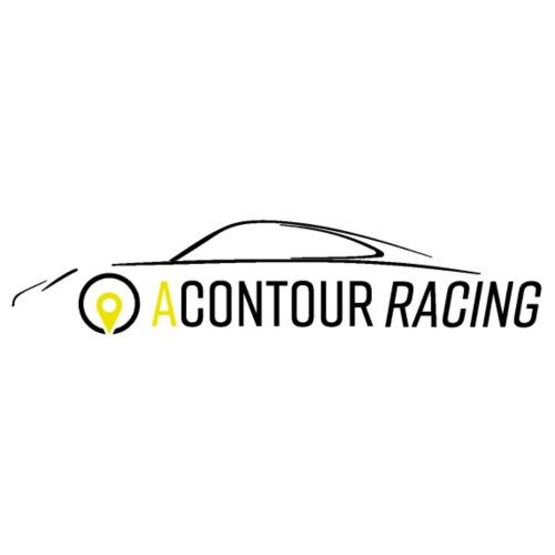 Racing Logo schwarz - Männer Premium T-Shirt