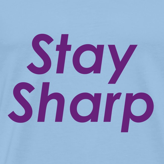 Stay Sharp