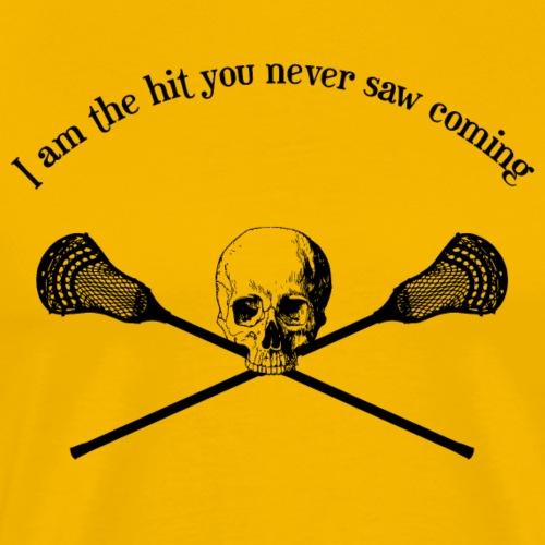 Lacrosse LAX Shirt - Männer Premium T-Shirt