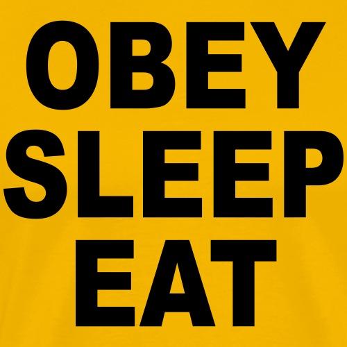 obey sleep - T-shirt Premium Homme