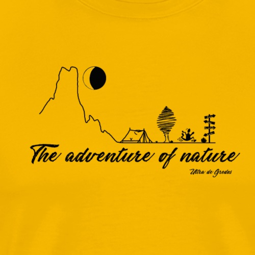 The adventure of nature - Camiseta premium hombre