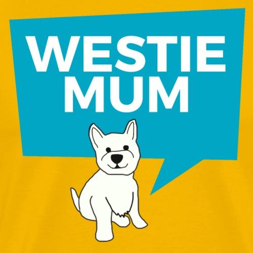 Westie Mum - Men's Premium T-Shirt