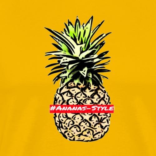 #Ananas-style - Männer Premium T-Shirt