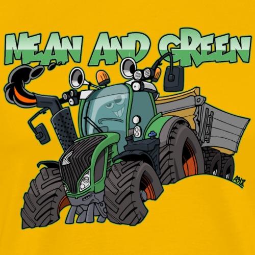F 718Vario mean and green - Mannen Premium T-shirt